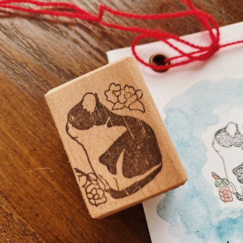 Catdoo rubber stamp - Classic meow