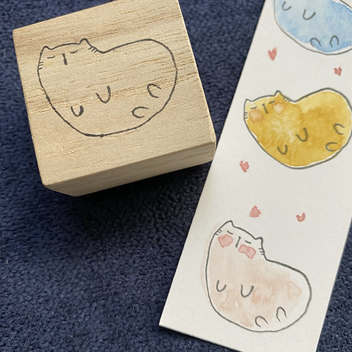 Catdoo rubber stamp- Dreamy