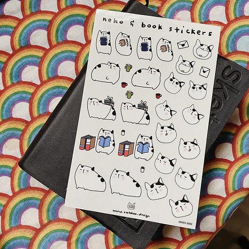 Catdoo stickers - Neko and book series 1