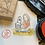 Thumbnail: Catdoo rubber stamp - Mi&Meow vol.3 - always ther with me