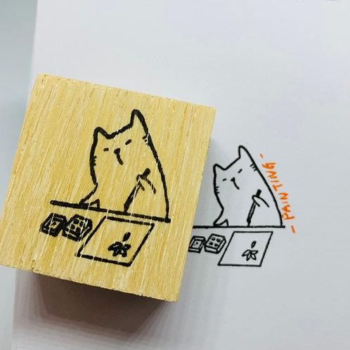 Catdoo Painting Meow