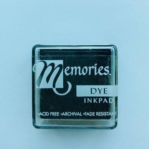 Memories Dye Inkpad - Noir