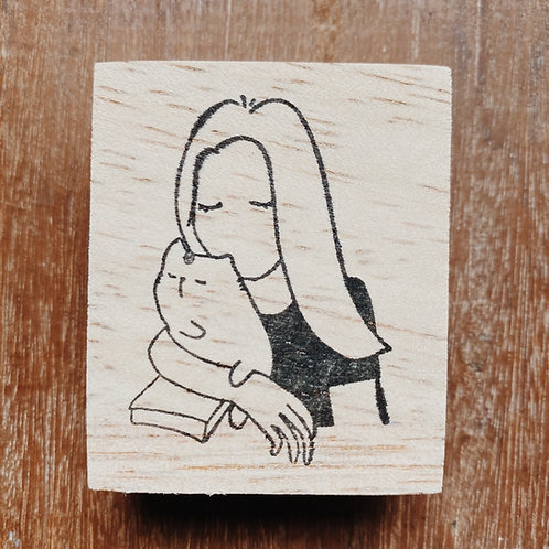 Catdoo rubber stamp - Mi&Meow series vol.2 - Be my soulmate