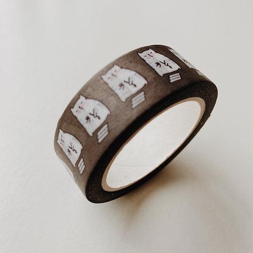 Catdoo washi tape - CATligraphy