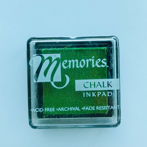 Memories Chalk Inkpad - Dusty Lime
