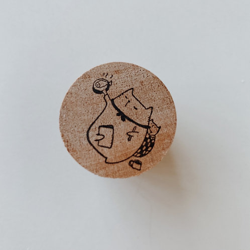 Catdoo rubber stamp - Do what meow can'
