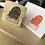 Thumbnail: Catdoo rubber stamp - Honeycomb Meowgic carpet