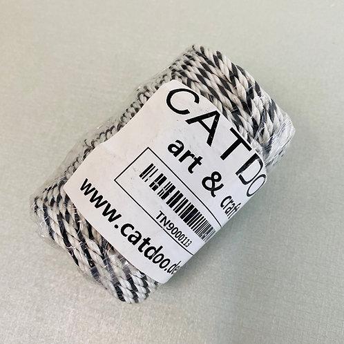 Catdoo 2ply Twine Roll B&W (100g)