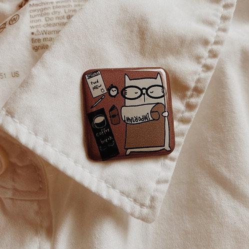 Catdoo collar pin - SR1 - Important Noted