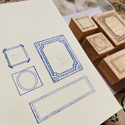 Catdoo label stamp set - Mix & match range