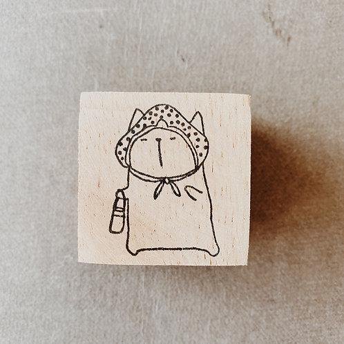 Catdoo rubber stamp - Sleep walking
