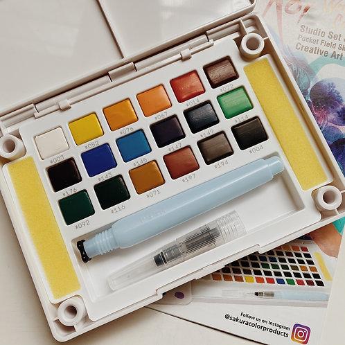 Sakura Koi Watercolors - Sketch Box 18c