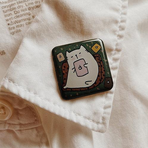 Catdoo collar pin - SR1 - Gadget Meow