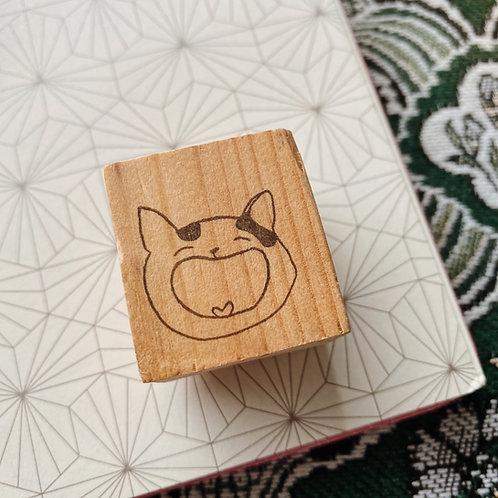 Catdoo rubber stamp - Neko Icon 'Happy'