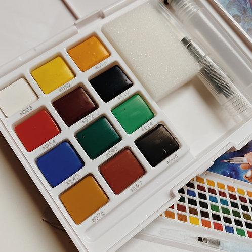 Sakura Koi Water Color Sketch Box 12c
