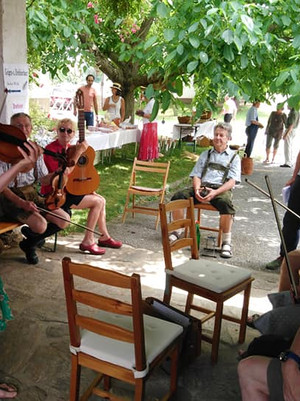 Irish Fiddling at Geigentag Neudorf-Ilz