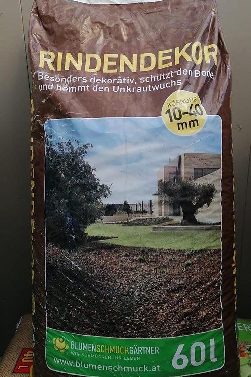 Rindendekor Blumenschmuck Gärtner - 60 Liter