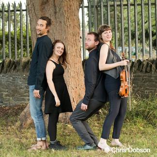 Claudia Schwab Quartet  (c) Chris Dobson