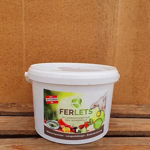 Ferlets Gemüsedünger  aus 100% Schafwolle - 2 kg