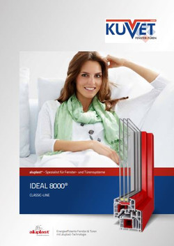 ideal8000 - Kunststofffenster