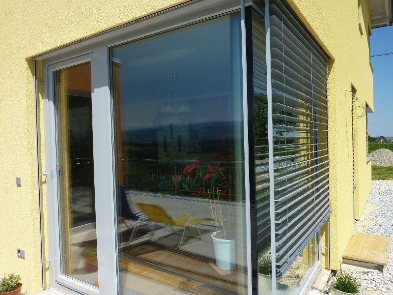 Terrassentür, Fenster, Sonnnenschutz
