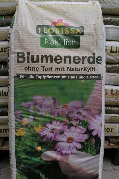 Blumenerde - ohne Torf - Florissa - 45 Liter