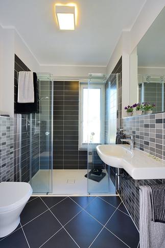 Fertighaus Kampa Dusche WC