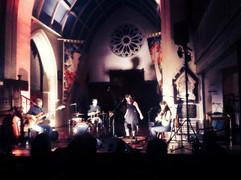 At Downend Folk Club Bristol