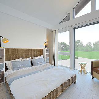 Fertighaus Satteldach Magos Schlafzimmer