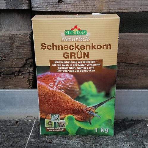 Schneckenkorn GRÜN - 1kg