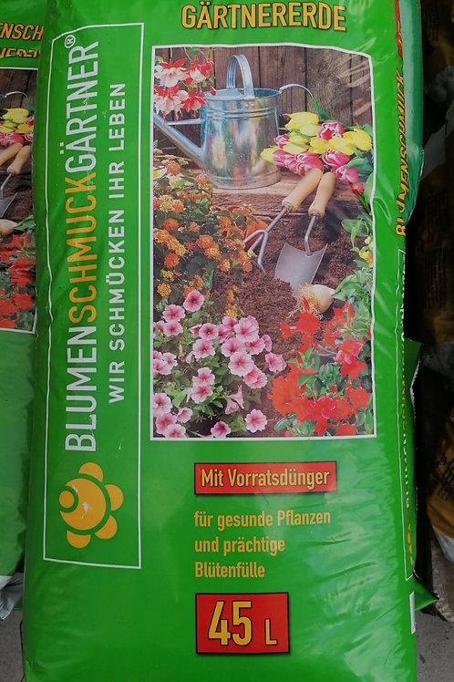 Blumenerde - Blumenschmuck Gärtner ab