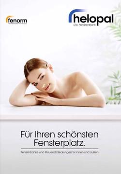 Fensterbank -Infoblatt