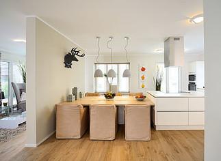 Fertighaus Kampa Küche Esszimmer