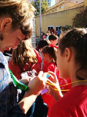 Irish workshop in Cáceres, Spain