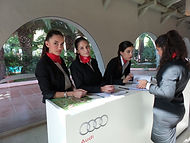 Audi hostess Dream Agency
