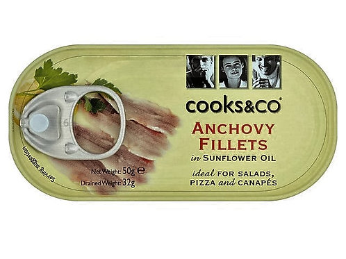 Anchovy Fillets Sm