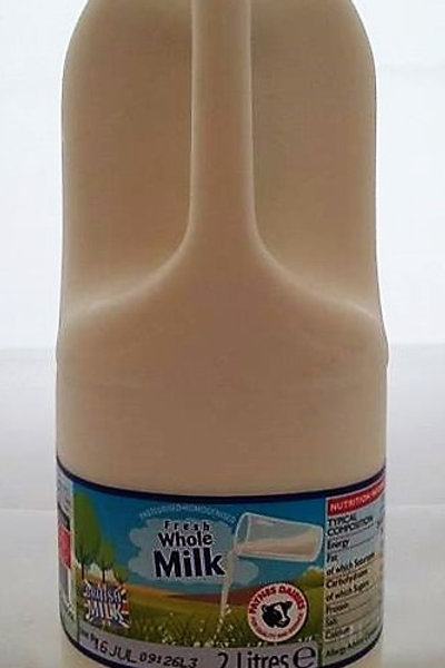 British Whole Milk 2L