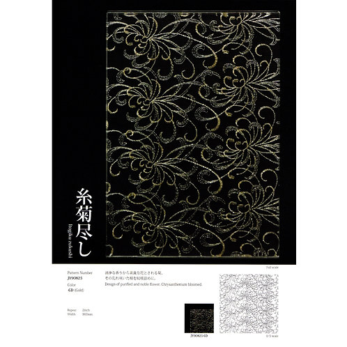 Kinu Glass / Itogiku-Zukushi
