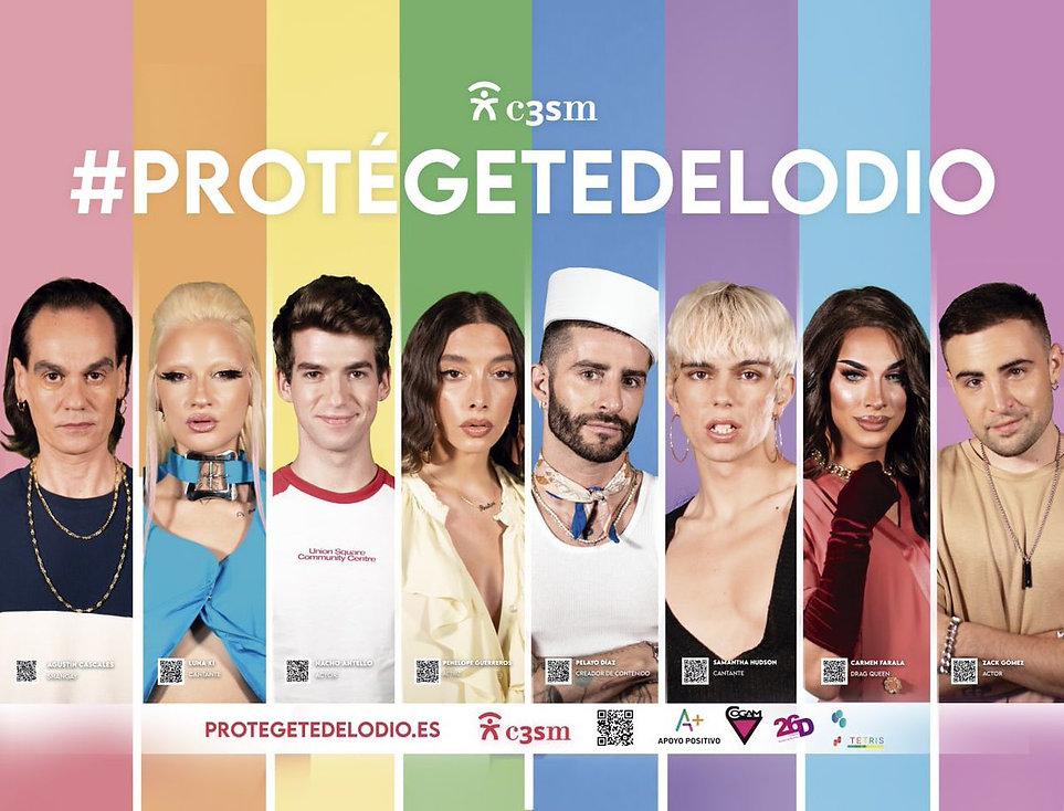 #protegetedelodio - CAMPAÑA ORGULLO LGTBIQ+ 2021