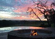 evening at Zangarna yoga safari Africa