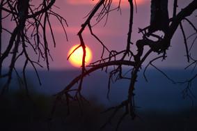 Sunset at Zangarna Lodge