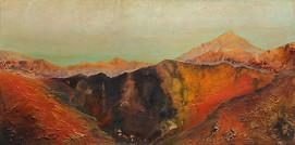Tenriffa, Blick auf den Teide II