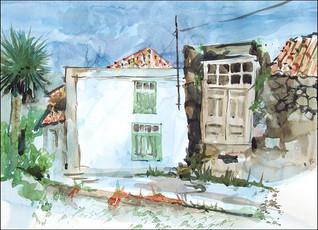 Teneriffa, Altes Bauernhaus in La Tierra del Trigo