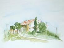 Landhaus bei Il Merlo, Toskana