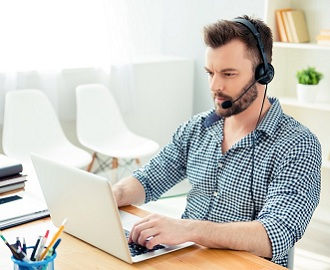 English classes online by Skype native teacher
