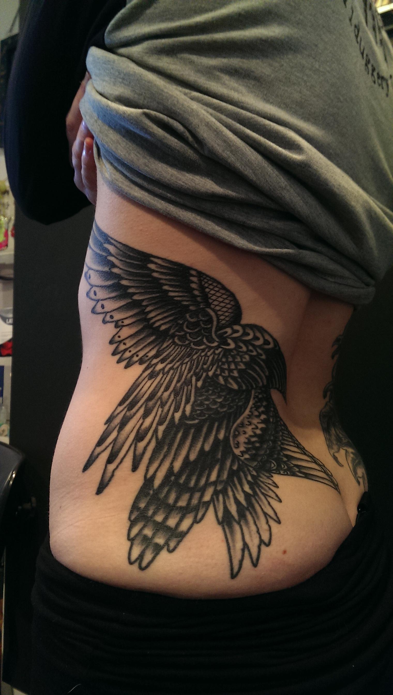 Helen MHelen McDonnell Tattoo BelfacDonnell