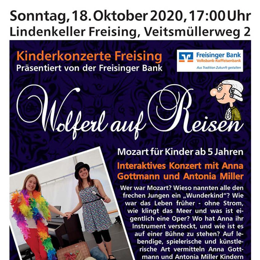 """Kinderkonzert: Mozart für Kinder - """"Wolferl auf Reisen"""""""
