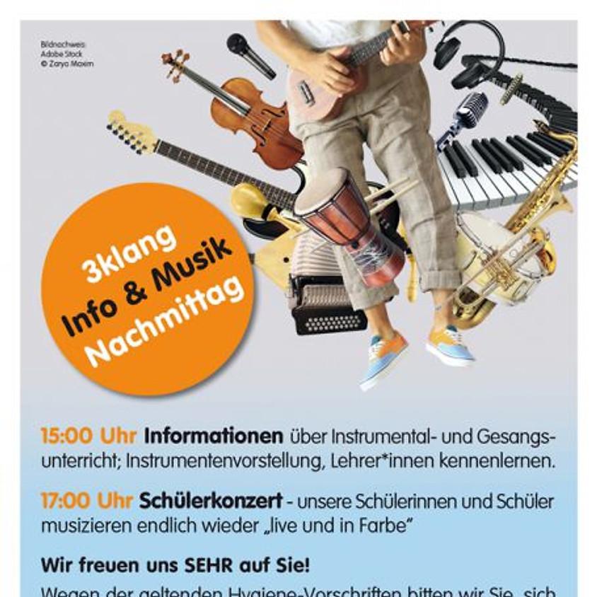 3klang: Info und Musiknachmittag - Instrumente basteln