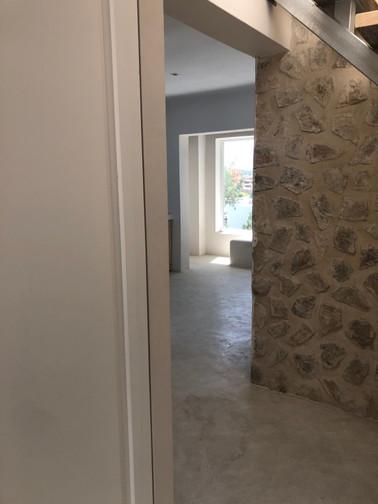 Entrance leading towards the Kitchen