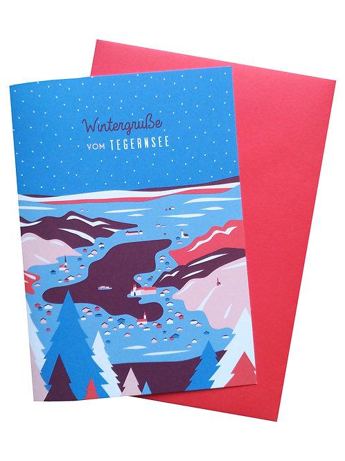 Wintergrüße vom Tegernsee